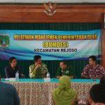 Kecamatan Rejoso Ajak Pendamping Sosialisasi BUMDes